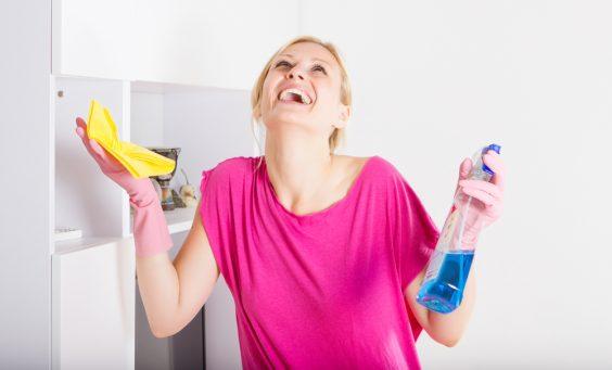 Cum facem curatenia sa fie mai distractiva